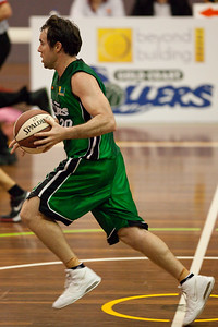Adam Darragh - QBL Quarter Final Basketball: Gold Coast Rollers v Brisbane Capitals; Carrara, Gold Coast, Queensland, Australia. Photos by Des Thureson:  http://disci.smugmug.com.
