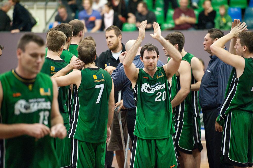 """Adam Darragh - QBL Quarter Final Basketball: Gold Coast Rollers v Brisbane Capitals; Carrara, Gold Coast, Queensland, Australia. Photos by Des Thureson:  <a href=""""http://disci.smugmug.com"""">http://disci.smugmug.com</a>."""