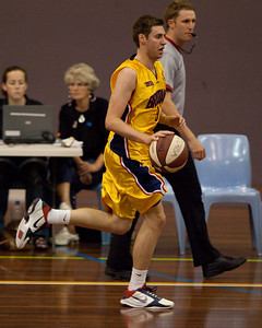 Kurt Thompson - QBL Quarter Final Basketball: Gold Coast Rollers v Brisbane Capitals; Carrara, Gold Coast, Queensland, Australia. Photos by Des Thureson:  http://disci.smugmug.com.