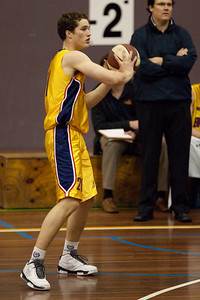 Jarred Bairstow - QBL Quarter Final Basketball: Gold Coast Rollers v Brisbane Capitals; Carrara, Gold Coast, Queensland, Australia. Photos by Des Thureson:  http://disci.smugmug.com.