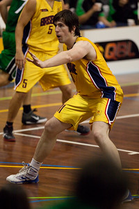 Matthew Roberts - QBL Quarter Final Basketball: Gold Coast Rollers v Brisbane Capitals; Carrara, Gold Coast, Queensland, Australia. Photos by Des Thureson:  http://disci.smugmug.com.