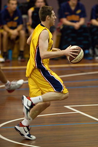 QBL Quarter Final Basketball: Gold Coast Rollers v Brisbane Capitals; Carrara, Gold Coast, Queensland, Australia. Photos by Des Thureson:  http://disci.smugmug.com.
