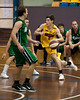"Ben Wilson - QBL Quarter Final Basketball: Gold Coast Rollers v Brisbane Capitals; Carrara, Gold Coast, Queensland, Australia. Photos by Des Thureson:  <a href=""http://disci.smugmug.com"">http://disci.smugmug.com</a>."