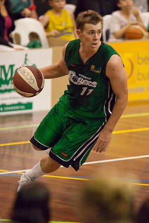 """Dave Gurney  - QBL Quarter Final Basketball: Gold Coast Rollers v Brisbane Capitals; Carrara, Gold Coast, Queensland, Australia. Photos by Des Thureson:  <a href=""""http://disci.smugmug.com"""">http://disci.smugmug.com</a>."""