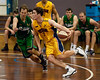 "Jarred Bairstow, Tim Smith - QBL Quarter Final Basketball: Gold Coast Rollers v Brisbane Capitals; Carrara, Gold Coast, Queensland, Australia. Photos by Des Thureson:  <a href=""http://disci.smugmug.com"">http://disci.smugmug.com</a>."