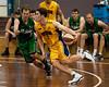 """Jarred Bairstow, Tim Smith - QBL Quarter Final Basketball: Gold Coast Rollers v Brisbane Capitals; Carrara, Gold Coast, Queensland, Australia. Photos by Des Thureson:  <a href=""""http://disci.smugmug.com"""">http://disci.smugmug.com</a>."""