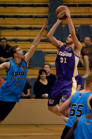 Anatoly Bose - Sydney Kings v New Zealand Breakers - Sunshine State Challenge Pre-season NBL Basketball, Southport School, Gold Coast, Queensland, Australia; 22 September 2011. Photos by Des Thureson:  http://disci.smugmug.com.