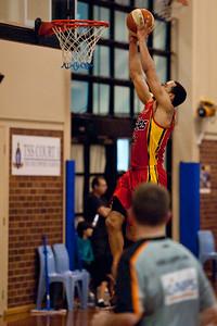 Daniel Dillon - Melbourne Tigers v Perth Wildcats - Sunshine State Challenge Pre-season NBL Basketball, Southport School, Gold Coast, Queensland, Australia; 22 September 2011. Photos by Des Thureson:  http://disci.smugmug.com.
