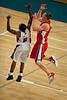 "Dave Gruber, Chris Warren - Adelaide 36ers v Wollongong Hawks - Finals Day, Sunshine State Challenge Pre-season NBL Basketball, Chandler, Brisbane, Queensland, Australia; Saturday 24 September 2011. Photos by Des Thureson:  <a href=""http://disci.smugmug.com"">http://disci.smugmug.com</a>."