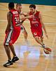 "Rhys Martin - Adelaide 36ers v Wollongong Hawks - Finals Day, Sunshine State Challenge Pre-season NBL Basketball, Chandler, Brisbane, Queensland, Australia; Saturday 24 September 2011. Photos by Des Thureson:  <a href=""http://disci.smugmug.com"">http://disci.smugmug.com</a>."