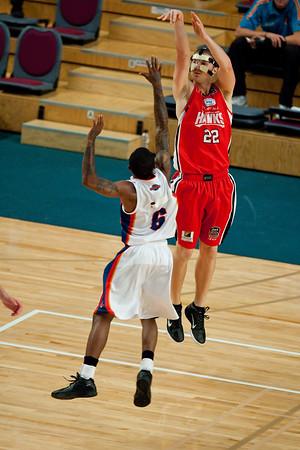 "Tim Coenraad - Finals Day, Sunshine State Challenge Pre-season NBL Basketball, Chandler, Brisbane, Queensland, Australia; Saturday 24 September 2011. Photos by Des Thureson:  <a href=""http://disci.smugmug.com"">http://disci.smugmug.com</a>."