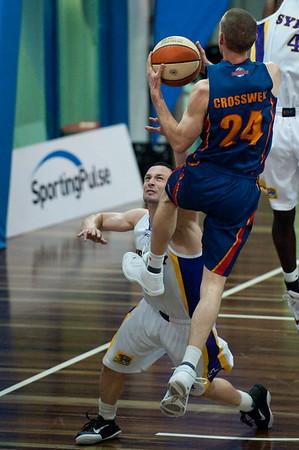 "Sydney Kings v Adelaide Sixers - Sunshine State Challenge Pre-season NBL Basketball, Auchenflower, Brisbane, Queensland, Australia; 23 September 2011. Photos by Des Thureson:  <a href=""http://disci.smugmug.com"">http://disci.smugmug.com</a>."