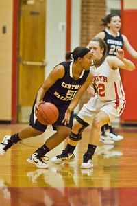 Westerville South High School's (##) Westerville Central High School's (##) in the second period of play at Westerville South High School Saturday night January 22, 2011.