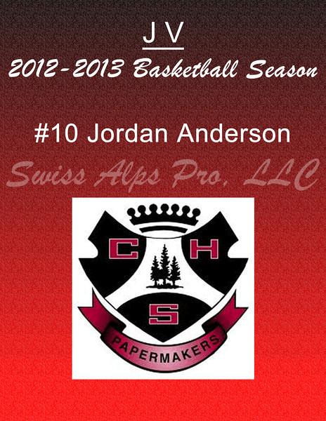#10 Jordan Anderson