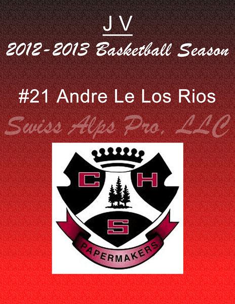 #21 Andres De Los Rios