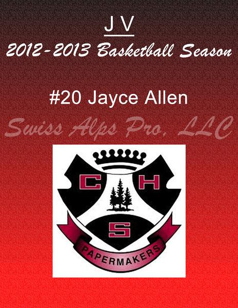 #20 Jayce Allen