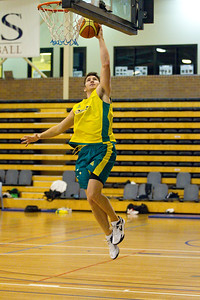 Damian Martin - Boomers - Australian Men's Basketball Team Open Training Session, The Southport School, Gold Coast, Queensland, Australia; 12 July 2012. Photos by Des Thureson:  http://disci.smugmug.com.
