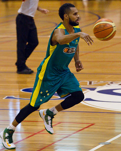 Patty Mills - Boomers - Australian Men's Basketball Team Open Training Session, The Southport School, Gold Coast, Queensland, Australia; 12 July 2012. Photos by Des Thureson:  http://disci.smugmug.com. Patrick Mills.
