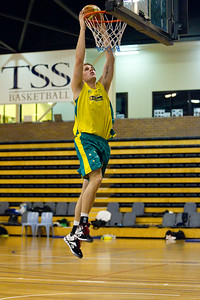 Boomers - Australian Men's Basketball Team Open Training Session, The Southport School, Gold Coast, Queensland, Australia; 12 July 2012. Photos by Des Thureson:  http://disci.smugmug.com.
