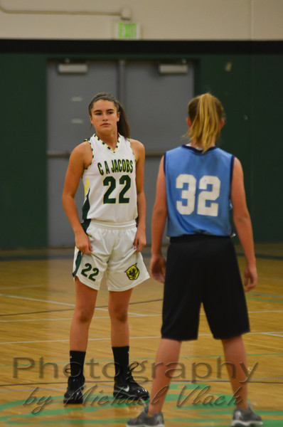 2012 CA Jacobs 7th Grade Girls Basketball vs. Holmes