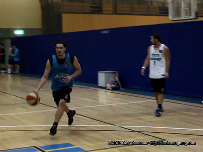 Video (SD) - Shooting Drill - Gold Coast Blaze Basketball Open Training Session, hosted by Northside Wizards, Boondall, Brisbane; 18 February 2012.