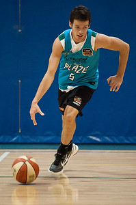 Jason Cadee - Gold Coast Blaze Basketball Open Training Session; Boondall, Brisbane, Queensland, Australia; 18 February 2012. Photos by Des Thureson - http://disci.smugmug.com.