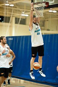 "Mark Worthington (""Wortho"") - Gold Coast Blaze Basketball Open Training Session; Boondall, Brisbane, Queensland, Australia; 18 February 2012. Photos by Des Thureson - http://disci.smugmug.com."