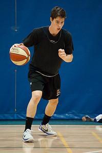 Declan Soukup - Gold Coast Blaze Basketball Open Training Session; Boondall, Brisbane, Queensland, Australia; 18 February 2012. Photos by Des Thureson - http://disci.smugmug.com.