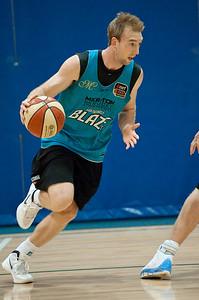 Brendan Teys - Gold Coast Blaze Basketball Open Training Session; Boondall, Brisbane, Queensland, Australia; 18 February 2012. Photos by Des Thureson - http://disci.smugmug.com.