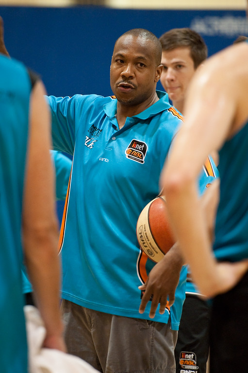 "Gold Coast Blaze Basketball Open Training Session; Boondall, Brisbane, Queensland, Australia; 18 February 2012. Photos by Des Thureson - <a href=""http://disci.smugmug.com"">http://disci.smugmug.com</a>."