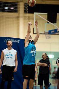 Chris Goulding - Gold Coast Blaze Basketball Open Training Session; Boondall, Brisbane, Queensland, Australia; 18 February 2012. Photos by Des Thureson - http://disci.smugmug.com.
