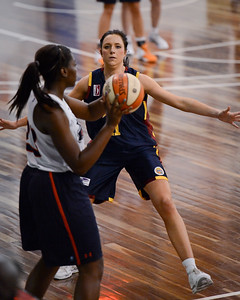 Rachel Pryor - Logan Thunder v Auburn University Tigers Women's Basketball; Auchenflower, Brisbane, Queensland, Australia; 07 August 2012. Photos by Des Thureson - http://disci.smugmug.com.