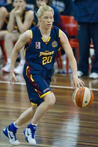 Izzy Chilcott - Logan Thunder v Auburn University Tigers Women's Basketball; Auchenflower, Brisbane, Queensland, Australia; 07 August 2012. Photos by Des Thureson - http://disci.smugmug.com.