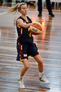 Mikhaela Donnelly - Logan Thunder v Auburn University Tigers Women's Basketball; Auchenflower, Brisbane, Queensland, Australia; 07 August 2012. Photos by Des Thureson - http://disci.smugmug.com.