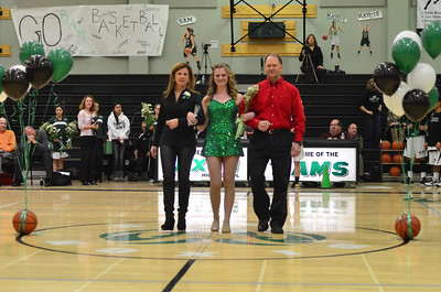 2013 Basketball Senior Night