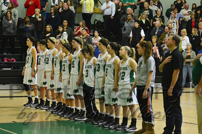 2013 Dixon Varsity Girls vs. West Campus