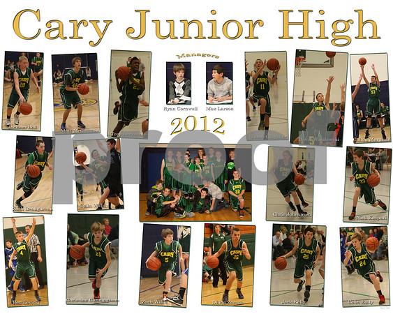 8th grade Boys 2012
