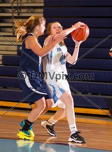 W-L @ Yorktown Girls JV Basketball (10 Jan 2014)