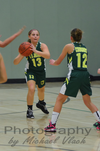 2013 Cougar Classic: 7th Grade Girls vs. Marsh