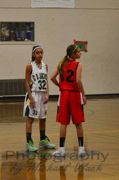 2013 7th Grade Girls vs. Winters