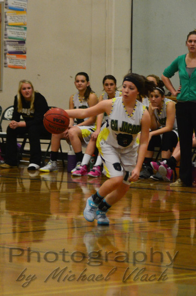 2014 CA Jacobs 8th Grade Girls vs Harper