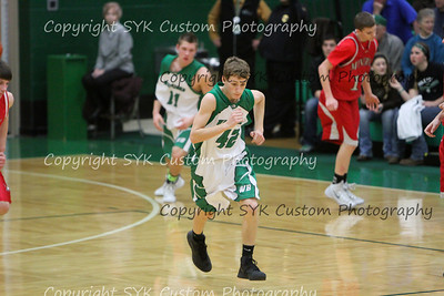 WBHS JV Basketball vs Minerva-76