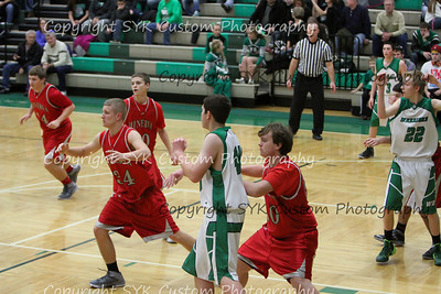 WBHS JV Basketball vs Minerva-86