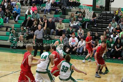 WBHS JV Basketball vs Minerva-90