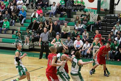WBHS JV Basketball vs Minerva-92