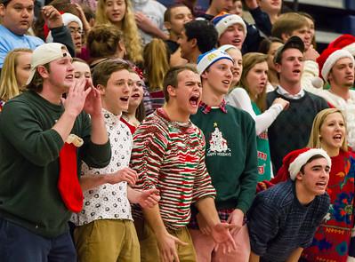 Wakefield @ Yorktown Boys Varsity Basketball (16 Dec 2014)