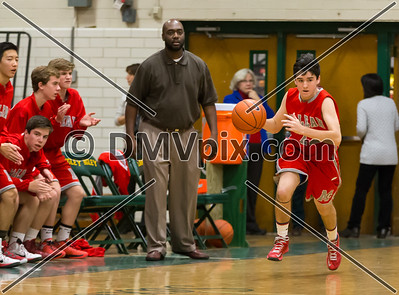 McLean @ Langley Boys JV Basketball (22 Jan 2015)