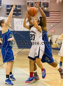 South Lakes @ W-L Girls JV Basketball (23 Jan 2015)