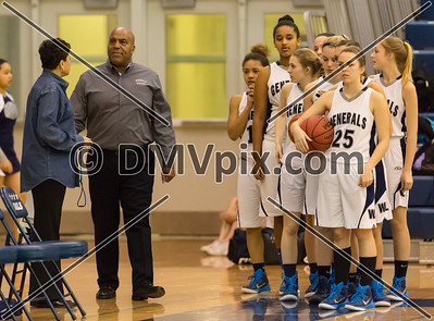 South Lakes @ W-L Girls Varsity Basketball (23 Jan 2015)