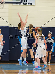 W-L @ Yorktown Girls Varsity Basketball (06 Feb 2015)